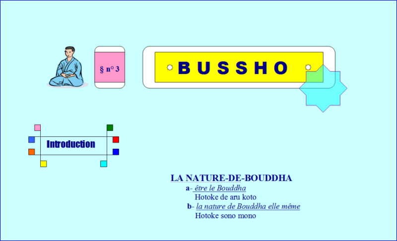 into Bussho